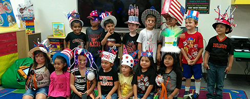 8-Grand Heights Class with hats