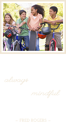 The really important great things are never center stage of life's dramas; theyr're always in the wings. That's why it's so essential for us to be mindful of the humble and the deep rather than the flashy and the superficial. - Fred Rogers