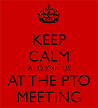 Keep Calm and Join PTO