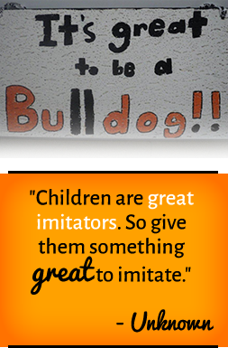 Children are great imitators. So give them something great to imitate. —Unknown