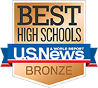 US News Bronze Medal for Best High Schools
