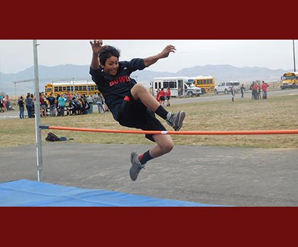 Bowie Track Event