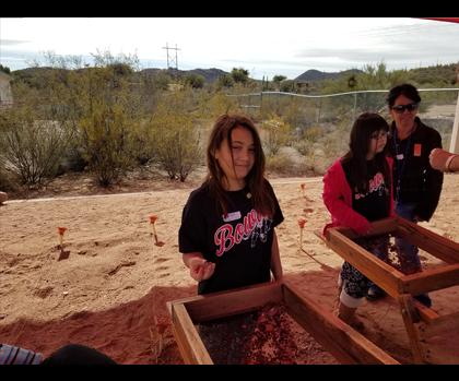 Student screening soil