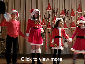 click to view more photos of our Holiday Program