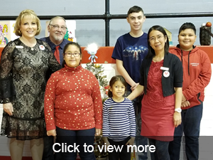 click to view more photos from our Holiday Luncheon.