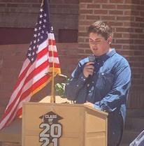 Valedictorian James Conger