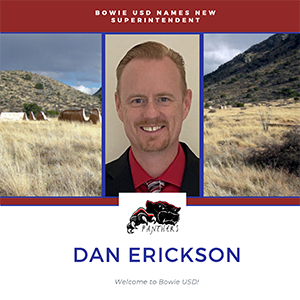 Bowie USD Names new superintendent Dan Erickson