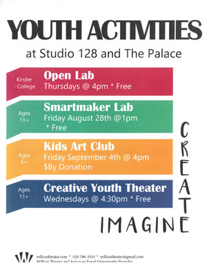Youth Activities Flyer