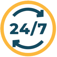24/7 access to on demand learning