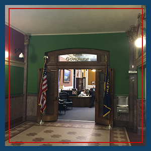 Entrance to Governor's Office