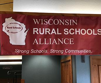 Wisconsin RURAL SCHOOLS ALLIANCE banner