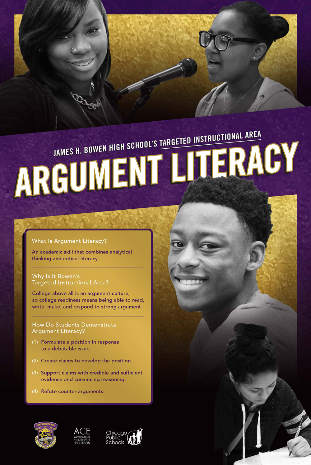 Argumentive Literacy Poster