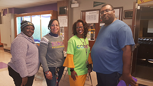 staff members attending CS4ALL event