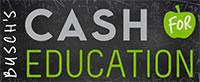 Busch's Cash For Education
