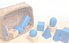 Blocks in a basket