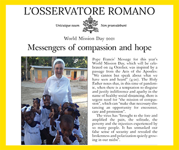 View full article - Messengers of Compassion and Hope