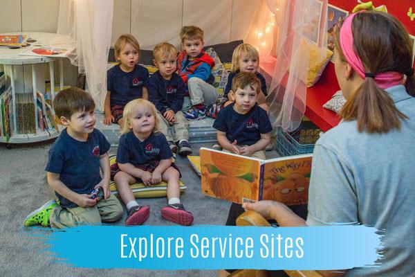 explore service sites