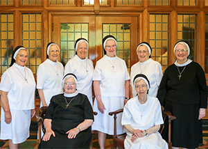 Group photo of the sisters