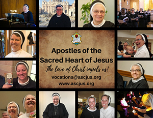 Apostles of the Sacred Heart of Jesus - The love of Christ impels us! - vocations@ascjus.org - www.ascjus.org