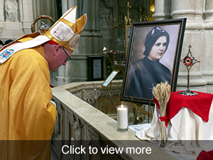 Click to view photos of Honoring Blessed Clelia