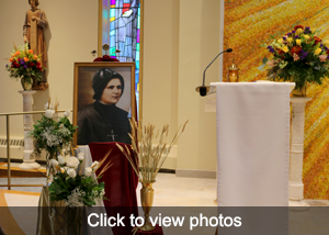 Click to view photos of Beatification of Blessed Clelia Merloni