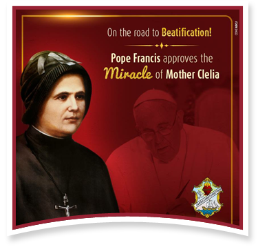 On the road to Beatification! Pope Francis approves the Miracle of Mother Clelia