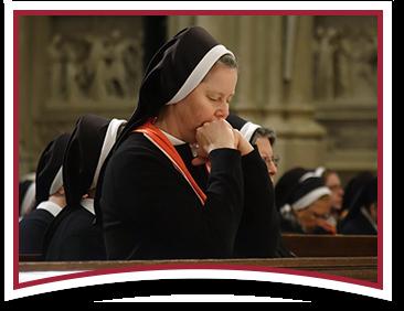 Sister in prayer