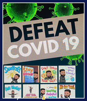 Defeat COVID 19