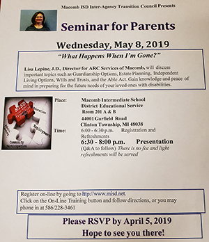 Seminar for Parents