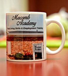 Macomb Academy mug