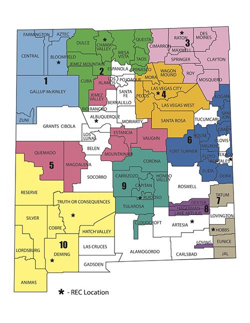 REC Map
