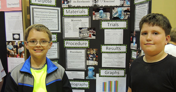 Blackford County Schools Science Fair