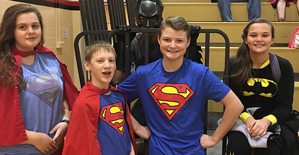 Blackford County Schools Super Heroes
