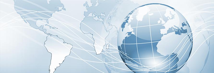 globe and internet