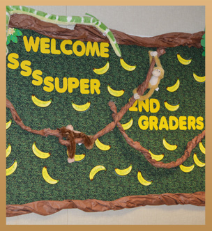 Welcome S-S-S-Super 2nd Graders