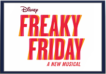 Disney Freaky Friday A New Musical logo