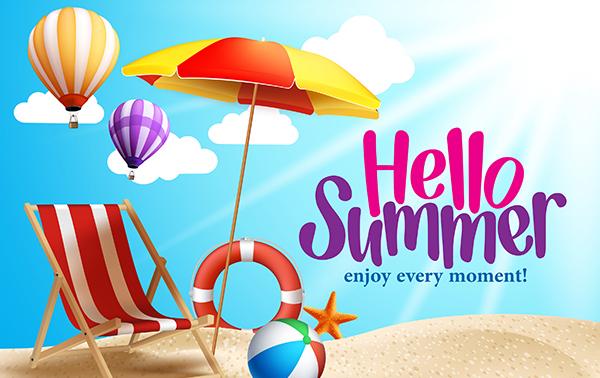 Hello Summer Enjoy Every Moment