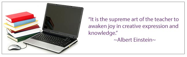 It is the supreme art of the teacher to awaken joy in creative expression and knowledge. -Albert Einstein