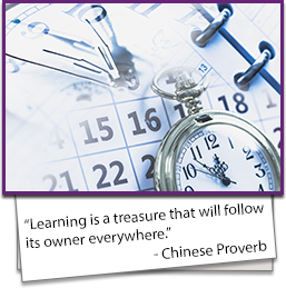 Learning is a treasure that will follow its owner everywhere. - Chinese Proverb