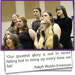 Our greatest glory is not in never failing but in rising up every time we fail. - Ralph Waldo Emerson