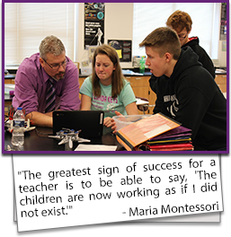 The greatest sign of success for a teacher is to be able to say, The children are now working as if I did not exist. - Maria Montessori