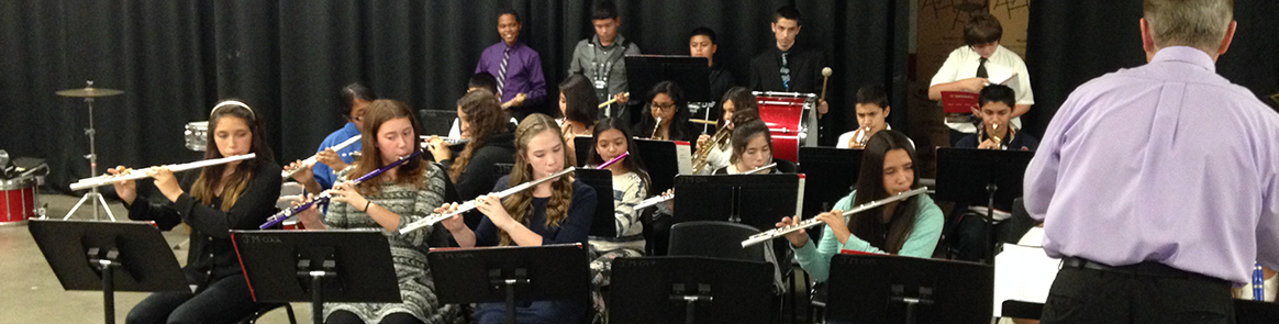 Corcoran music students