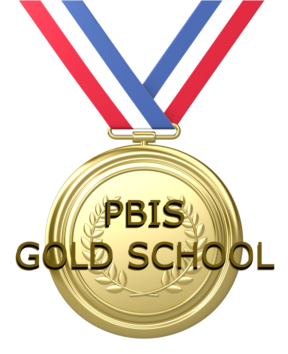PBIS Gold School medal