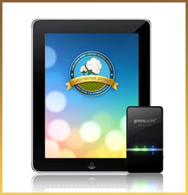 One2one tablet and portable electronic device