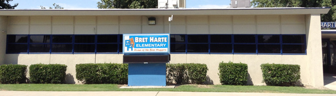 Bret Harte Elementary School Home