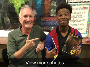View more photos of our special guests visiting our students