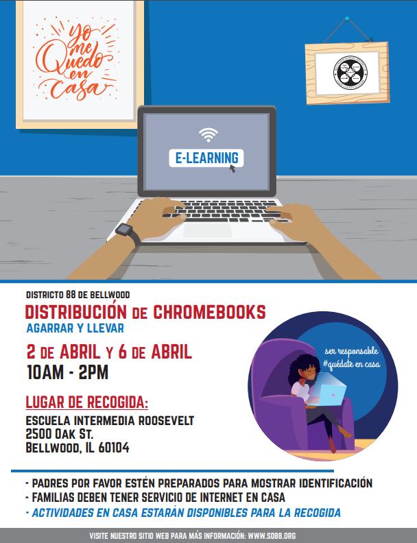 Chromebook Distribution Spanish