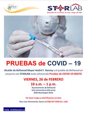 Pruebas de COVID - 19