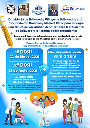 Vaccine Flyer - Spanish