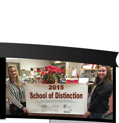 School of Distinction Banner